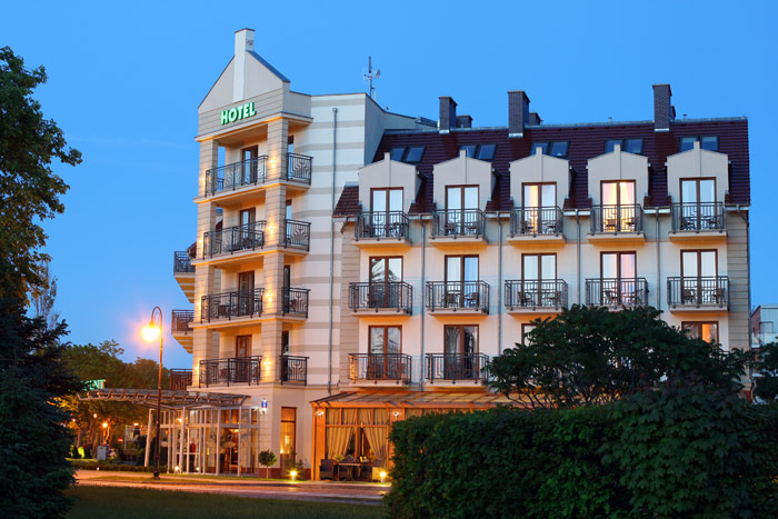 Hotel Villa Merry Swinemunde Polen